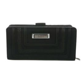 Luxe Portemonnee Pocket PU-leder GB-M492-black
