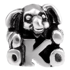 Alfabet bedel SilveRado Kids - Letter K | SRK011