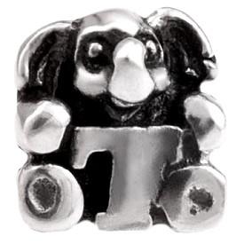 Alfabet bedel SilveRado Kids - Letter T   SRK020