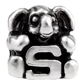 Alfabet bedel SilveRado Kids - Letter S   SRK019