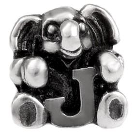 Alfabet bedel SilveRado Kids - Letter J   SRK010