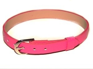 Bracelet 8 mm knal roze | AS06