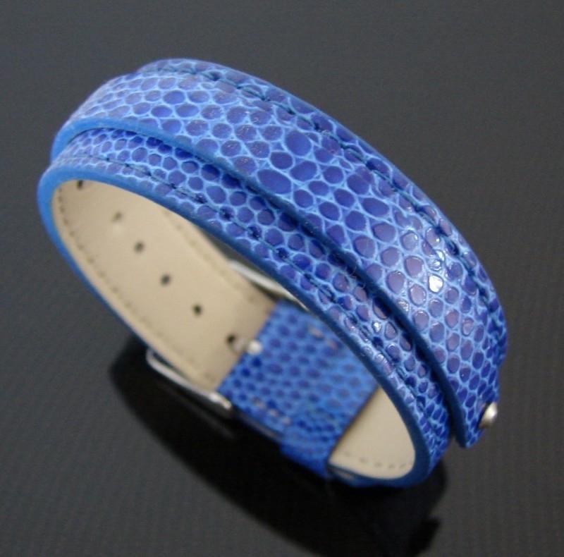 Bracelet Big blauw | AS15