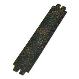 platte leerband 29mm breed kleur Goby Bruin lengte 15cm (OL-35)