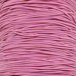 stoffen elastiek 1mm dik lengte 2 meter - kleur roze