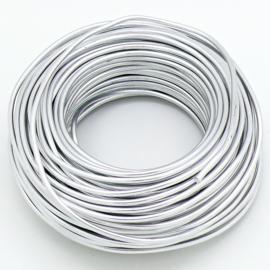 Aluminium Memory Zilverdraad - 3mm dik - 1 meter