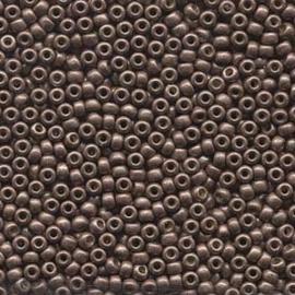 MR8-4213f Miyuki Rocailles 8/0 - 10 gram - kleur Galvanised Matte Dark Mauve
