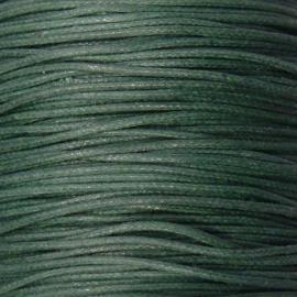 waxkoord 0,5 mm 10 meter flessegroen