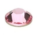 swarovski platte steen SS20 5mm light rose