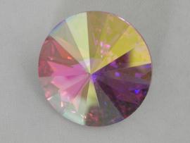 swarovski puntsteen 1122 - rivoli 12mm crystal AB