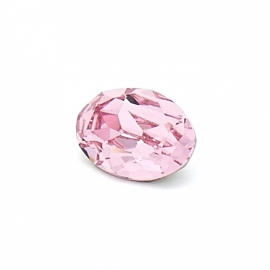 swarovski ovaal 4120 (maat 10x14mm) kleur light rose (BSOV-007)
