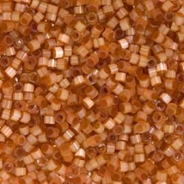 DB1804 Miyuki Delica 11/0 - 5 gram - kleur silk satin dyed topaz