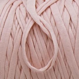 Gipsy koord - licht elastisch textielgaren - ongeveer 20mm breed - lengte 1m - kleur light nude (GIPSY B-09)