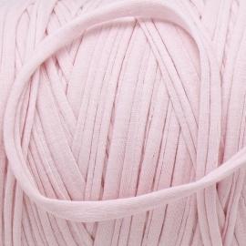 Gipsy koord - licht elastisch textielgaren - ongeveer 20mm breed - lengte 1m - kleur baby pink (GIPSY B-06)