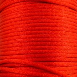 satijnkoord 2mm 5 meter kleur rood