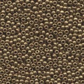 MR8-0457L Miyuki Rocailles 8/0 - 10 gram - kleur Metalic Light Bronze