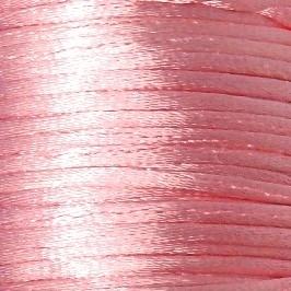 satijnkoord 2mm 5 meter kleur lichtroze