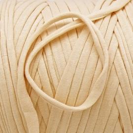 Gipsy koord - licht elastisch textielgaren - ongeveer 20mm breed - lengte 1m - kleur french apricot (GIPSY B-08)