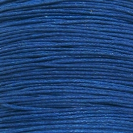 waxkoord 0,5 mm 10 meter kleur donkerblauw
