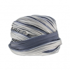 Shibori Silk Ribbon - color Cool Ash - lengte 20cm (FCR-578)