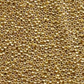 MR15-1052 Miyuki Rocailles 15/0 - 5 gram - kleur Galvanised Gold