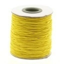 stoffen elastiek 1mm dik lengte 2 meter - kleur geel (AB84859)