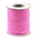 stoffen elastiek 1mm dik lengte 2 meter - kleur lichtroze (AB84852)