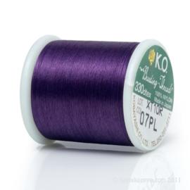 KO draad kleur paars- rol 50m (no. 007PL)