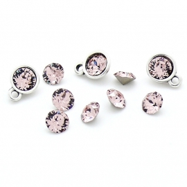 swarovski puntsteen SS24 5,3mm vintage rose