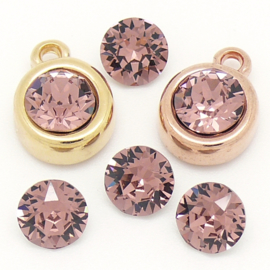 swarovski puntsteen SS39 8,5mm blush rose