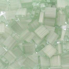 TL5-2560 Miyuki Tila 5x5mm - 5 gram - kleur silk pale light green