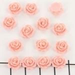 kraal roosje 9mm roze (BJ-21609-11)
