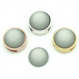 polariscabochon 11,8 mm - kleur Grey (CAB-12-016)