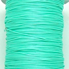 waxkoord 0,5 mm  10 meter kleur mint (no 149)
