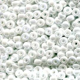 MR6-0420 Miyuki Rocailles 6/0 - 10 gram - kleur White Pearl Ceylon