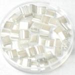 TL5-0420 Miyuki Tila 5x5mm - 5 gram - kleur ceylon pearl white