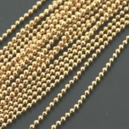 ballchain GOUD 1,2mm (1m) (AB66722)