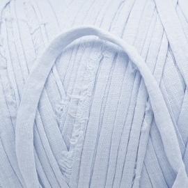 Gipsy koord - licht elastisch textielgaren - ongeveer 20mm breed - lengte 1m - kleur heaven blue (GIPSY B-19)
