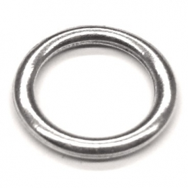 DQ metaal gesloten ring 17mm - binnenmaat 13mm (B05-027-AS)