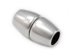 DQ metaal magneetsluiting gat voor 4mm rondleer 7x14mm (B07-010-AS)