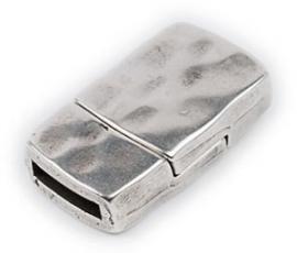 DQ metaal magneetsluiting hamerslag voor 10mm plat leer (B07-014-AS)