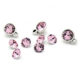 swarovski puntsteen SS24 5,3mm light rose