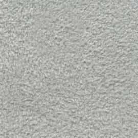 Ultra Suede vel maat 21.5x21.5 cm - kleur silver pearl (US-068)