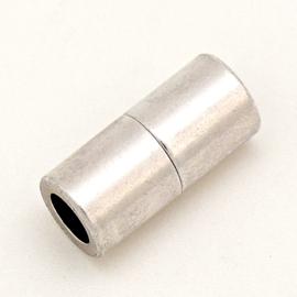 DQ metaal magneesluiting tube 10x20mm gat 6mm (B07-132-AS)