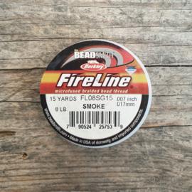 Fireline 8LB (0,18mm) 15 yards kleur Smoke