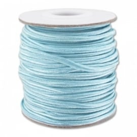 Soutache braid 3mm - color aqua - lengte 1m (BRF-247)