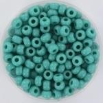 MR6-0412 Miyuki Rocailles 6/0 - 10 gram - Matte Opaque turquoise