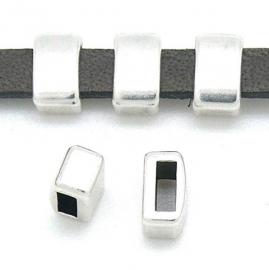 DQ metaal schuifkraal staaf 5x8,5mm voor 5mm gat 2.2x5mm (B04-137-AS)