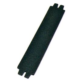 platte leerband 29mm breed kleur Goby Zwart lengte 15cm (OL-38)