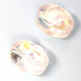 glaskraal crystal AB nugget 17x21mm (AB83526)